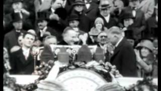 Herbert Hoover Inaugurated 1929