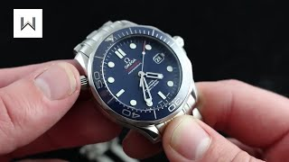 Omega Seamaster Professional 300M Co-Axial Diver  - 007 Bond - Luxury Watch Review