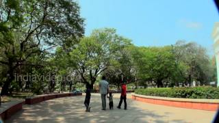 Bharathi Park in Pondicherry