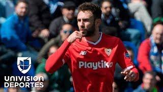 Miguel Layún se estrena como goleador del Sevilla