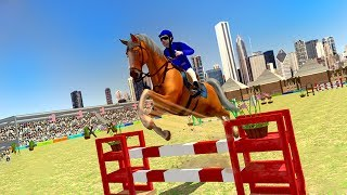 Horse Show Jumping Challenge (by TapSim Game Studio) Android Gameplay [HD]