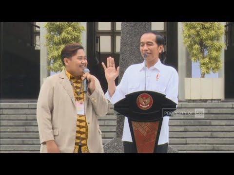 FULL Jawab Kuis Presiden Jokowi, Mahasiswa UGM Ini Minta Sepeda - Kongres Pancasila ke-9