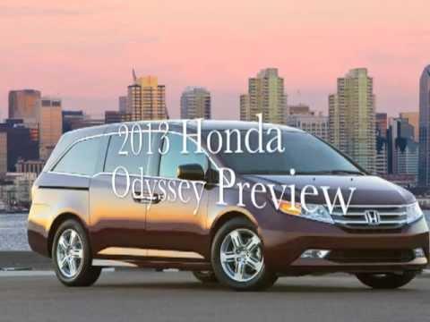 2013 Honda Odyssey Preview