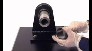Mounting of sealed SKF spherical roller bearing