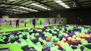 Jump Giants Thurrock Trampoline Park Launch Video, May 2015