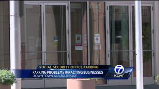 Social Security office parking problems impacting businesses