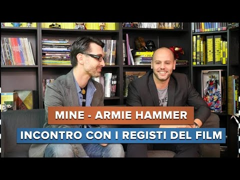 MINE con Armie Hammer - Incontro con i registi