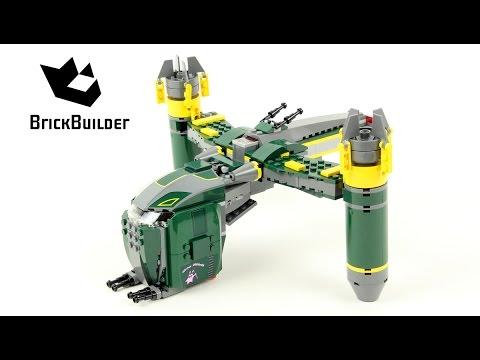 Vidéo LEGO Star Wars 7930 : Bounty Hunter Assault Gunship