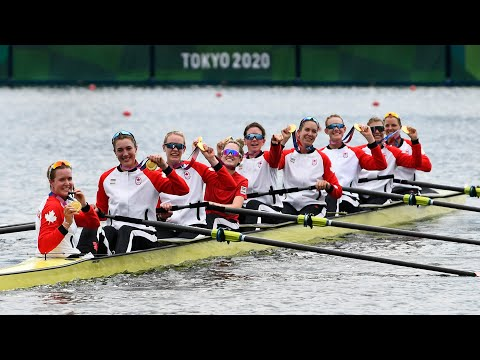 Tokyo Olympics Gold for Canada in rowing and close finishes for Oleksiak and MacLennan