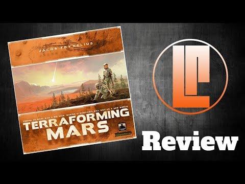 Lucky Roll Reviews - Terraforming Mars