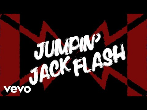 The Rolling Stones - Jumpin' Jack Flash (Official Lyric Video)