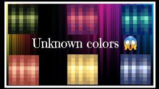 (PG3D) How to get 6 unknown colors 😱🌈  ᴘᴛ. 1 (FᎡᎬᎬ ᏟᎾᏢY)
