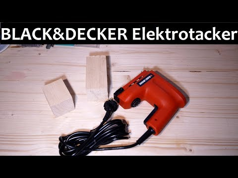 Black & Decker Elektrotacker KX418E - Test