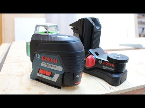 Como usar el Nivel Laser Bosch GLL 3-80 CG