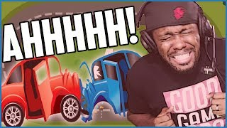 I RAGED SO HARD I ALMOST CRIED! - Don't Crash | Mobile Gameplay