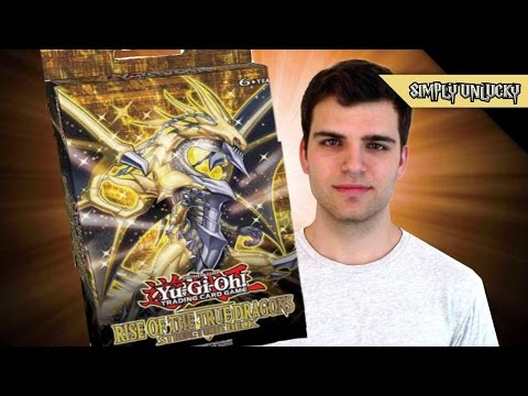 Best Yugioh Rise of the True Dragons Structure Deck Opening and Review!