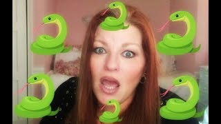 I Was Attacked By SNAKES!