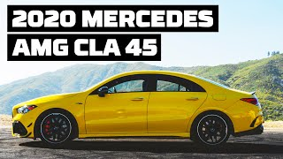 [MotorTrend] 2020 Mercedes-AMG CLA45 at Willow Springs!