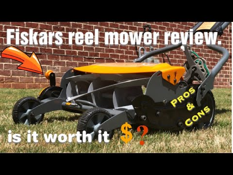 Fiskars Reel Mower Review, The Good and The Bad