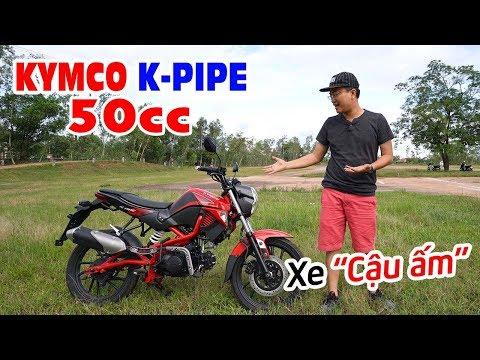 KYMCO K-PIPE 50cc ▶ Đánh giá chi tiết Xe không cần bằng lái dành cho