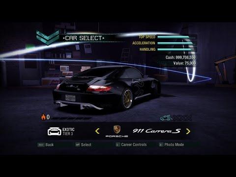 NFS Carbon - Tuning mod V2.1