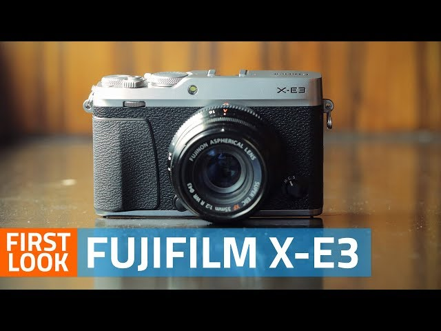 Fujifilm X-E3 Mirrorless Camera With 4K Video Support