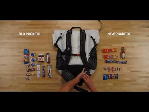 Updated Hip Belt Pockets