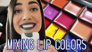 Mixing My Own Lip Colors with the Anastasia Beverly Hills Lip Palette