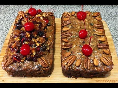 Fruit Cake Pastel de frutas