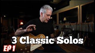 3 Classic Guitar Solos Ep.1