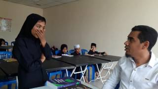Rohingya English club English conversation among the teacher and students