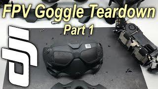 Dji Digital FPV Goggles Teardown Part 1. Whats inside?