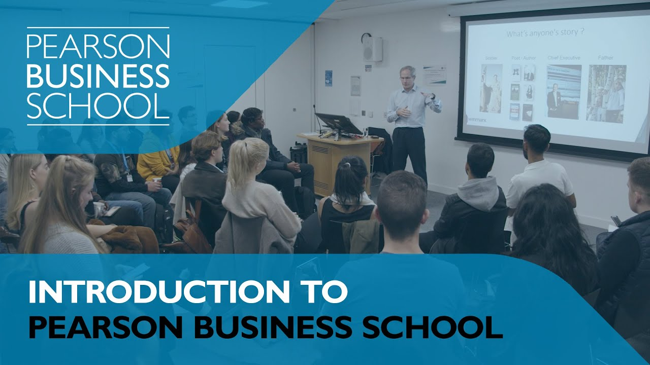 Introduction to Pearson Business School