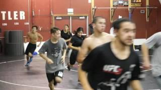 Fremont High School Wrestling  2016-2017 Season (First Practice) t