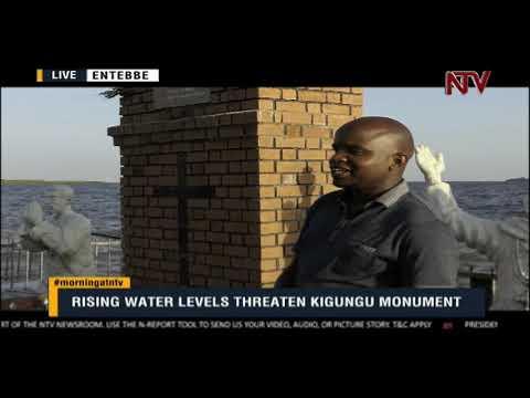 ON THE GROUND: Rising water levels threaten Kigungu monument