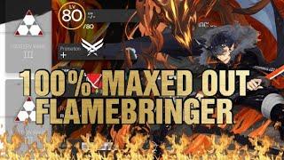 Flamebringer  - (Arknights) - [Arknights] 100% MAXED OUT FLAMEBRINGER