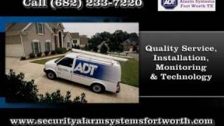 ADT Home Alarm in Fort Worth - ADT Security Alarm Systems