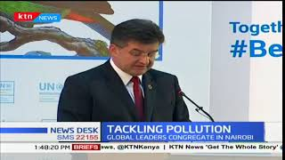 Environment conservation conference underway in Nairobi