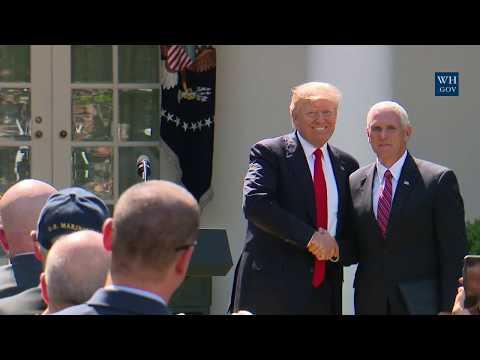 President Trump Makes a Statement Regarding the Paris Accord