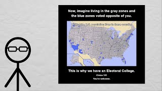 Re: The Trouble With The Electoral College – Cities, Metro Areas, Elections and The United States