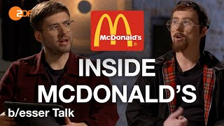 Mein McDonald's: McGangBang, 15.000€ am Tag, Haare im Burger - Eure 10 Fragen   b/esser Talk