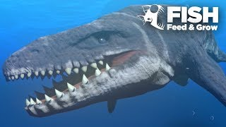 MOSASAUR IS THE BIGGEST!!! - Feed And Grow | Ep10