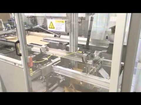 HTF Side Tuck Fold Tray Erector