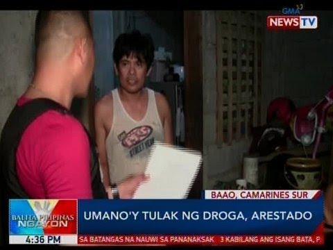 BP: Umano'y tulak ng droga, arestado sa CamSur