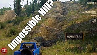 SpinTires MudRunner: Multiplayer Trail Riding, IMPOSSIBLE HILL!?