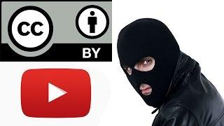 Мошенничество с лицензией Creative Commons на YouTube