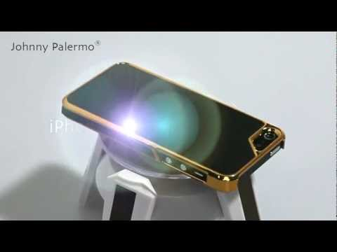 Showtime: Johnny Palermo iPhone 5 5S Hülle Carbon Metallic Case Gold/Schwarz