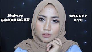 Tutorial Makeup KONDANGAN   SMOKEY EYE   Regina Putri