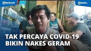 Pria Tak Percaya Covid-19 yang Buat Nakes Marah, Kini Menyesal dan Minta Maaf di Kantor Polisi
