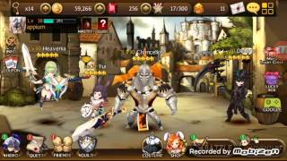 Seven Knights: Power Ups, Fuse, Rank up and Gold farming